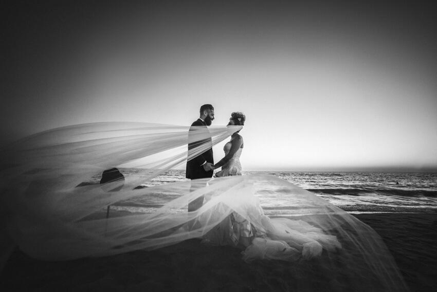 Chiara e Fabio – Matrimonio sulla spiaggia in stile Harley Davidson 090