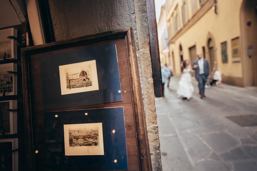 Lisa e Sean - Honeymoon a Firenze 01