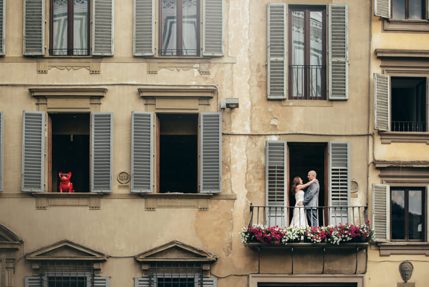 Lisa e Sean - Honeymoon a Firenze 36