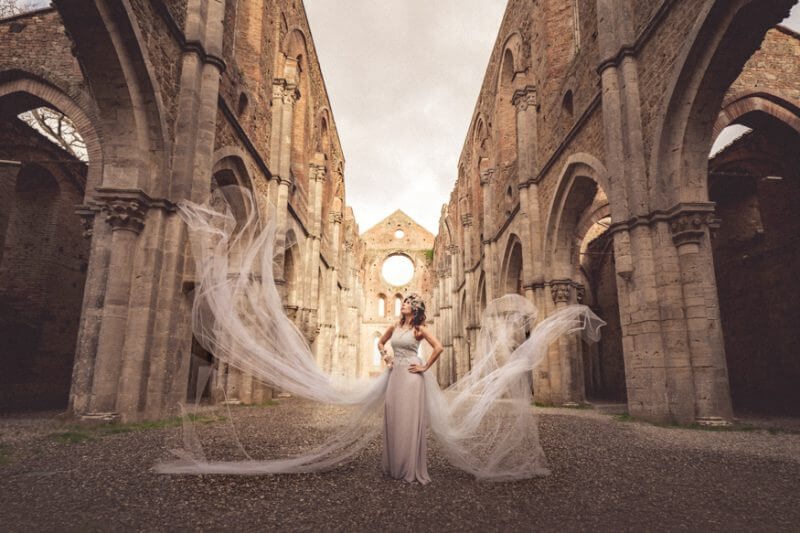 Honeymoon at San Galgano