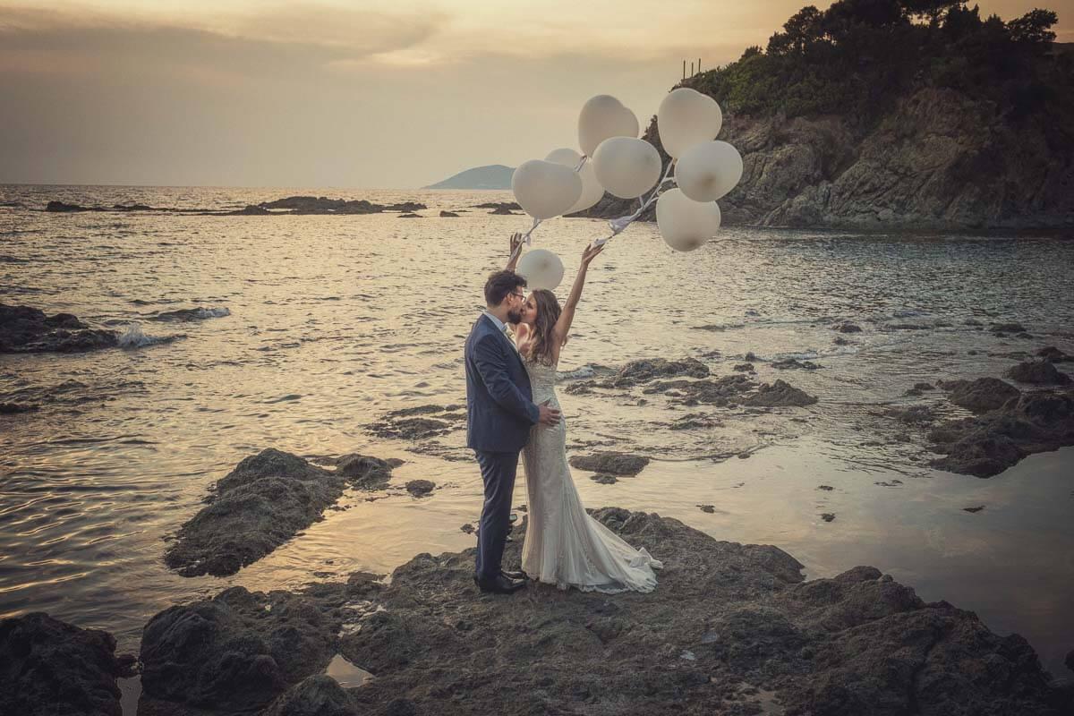 Alessia e Francesco - Matrimonio a Villa Parisi Castiglioncello Wedding 56
