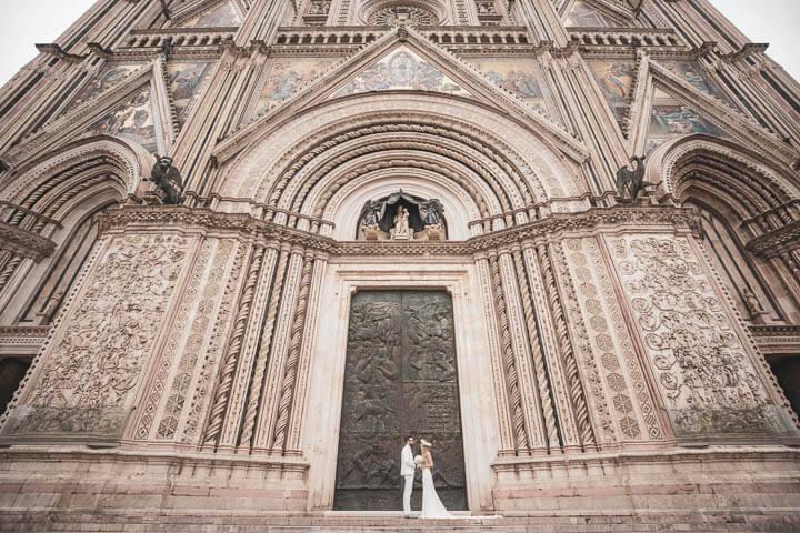 Lorna e Benn – Matrimonio presso Albergo Badia di Orvieto 44