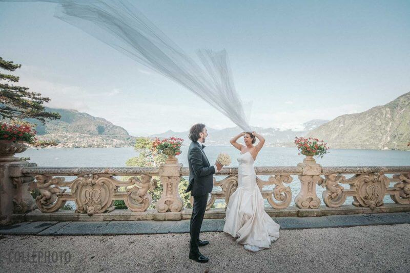 Pazzo Matrimonio a Villa del Balbianello Crazy Wedding on Villa Balbianello 34