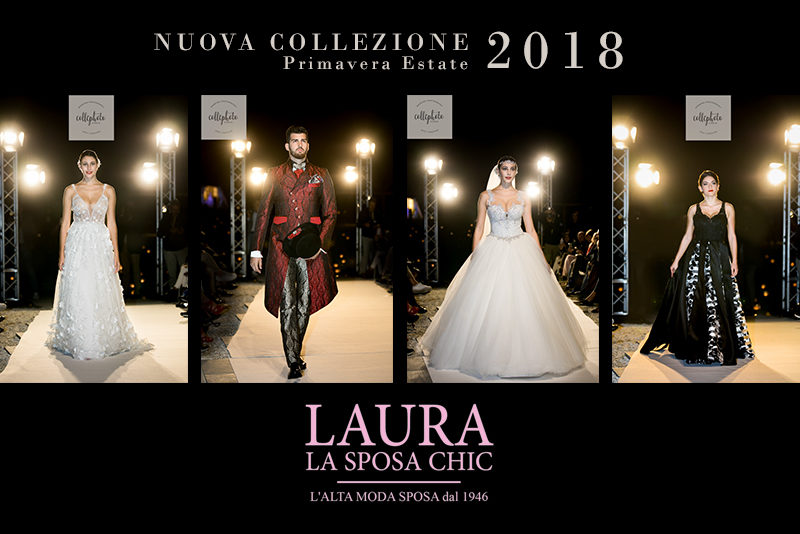 Laura La Sposa Chic fashion show