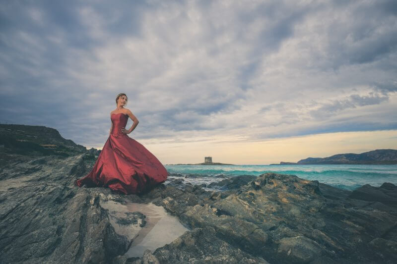 Stefano e Irene - Trash the Dress Sardinia Sardegna 28