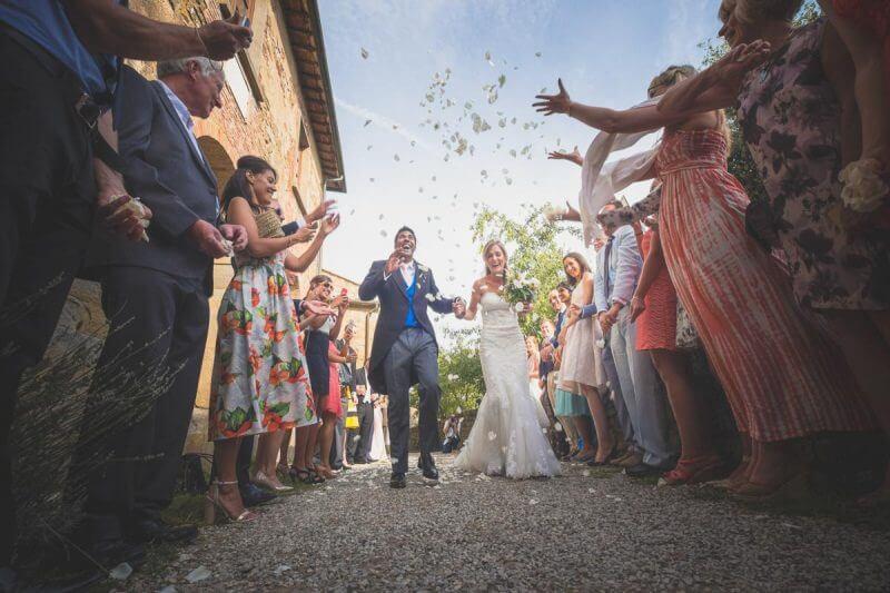 Zoe e Kumaran - Matrimonio Castello Gargonza Wedding 053