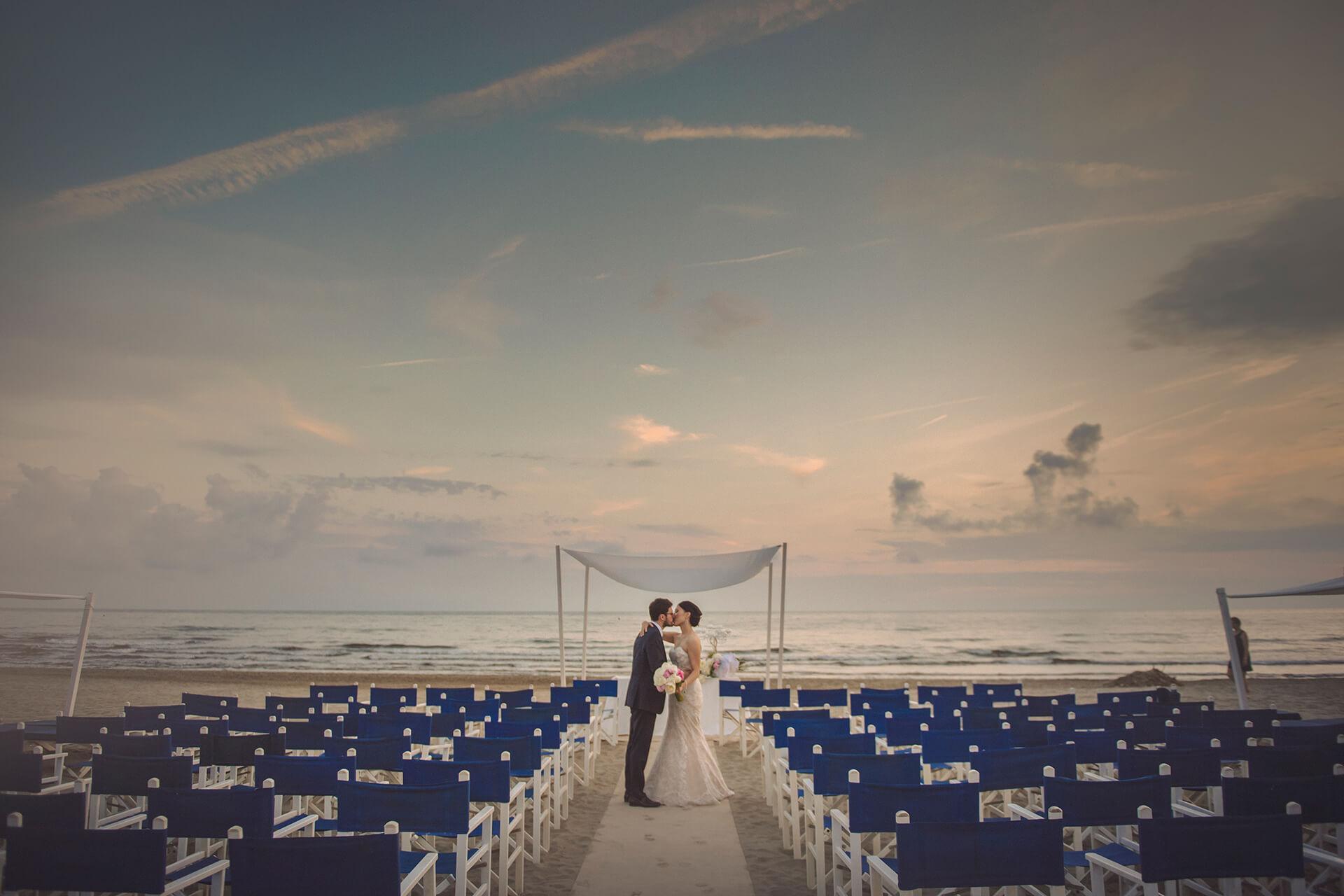 matrimonio in spiaggia al bambaissa
