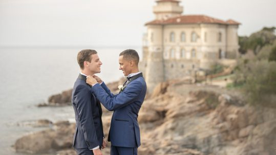 gay wedding in villa parisi